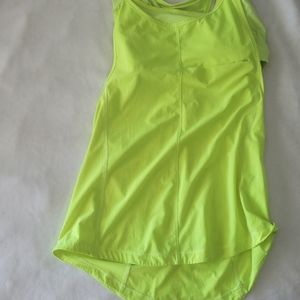 Lululemon tank with bra size M